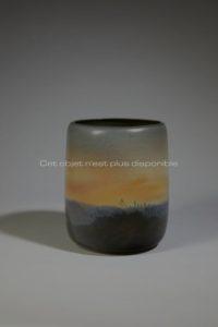 Seau paysage crépusculaire, porcelaine, 2016 | Jean Girel