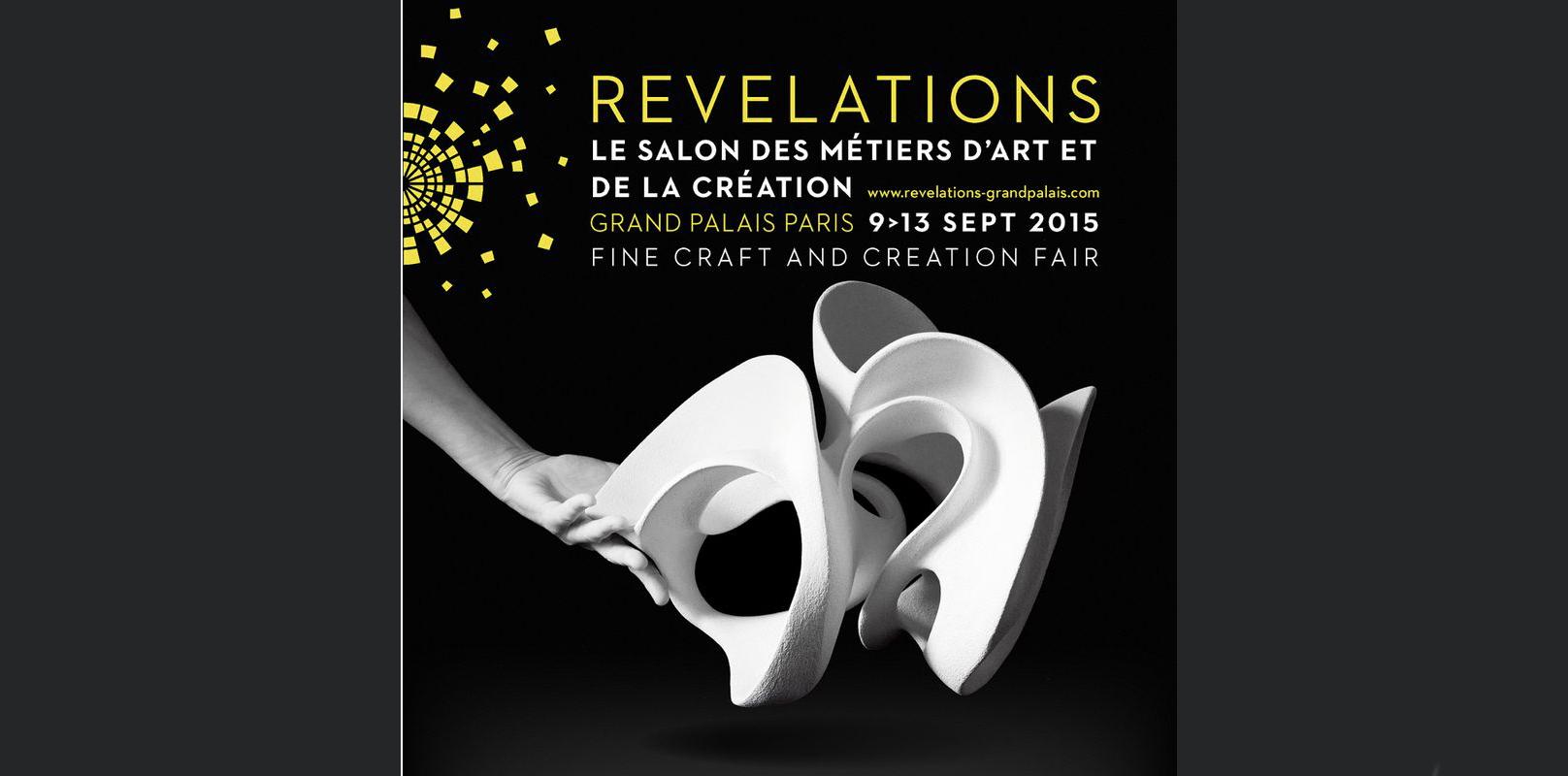 2015-09- Salon Révélations. Valérie Hermans et Jean Girel. Porcelaines - Salon Révélations 2015_ Galerie Arcanes l Arts Décoratifs XXe - Art Contemporain Paris,