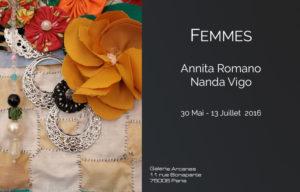 2016_05 - Femmes_ Galerie Arcanes l Arts Décoratifs XXe - Art Contemporain Paris