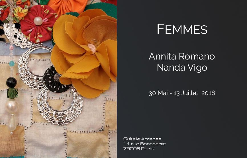 2016_05 - Femmes_ Galerie Arcanes l Arts Décoratifs XXe - Art Contemporain Paris,