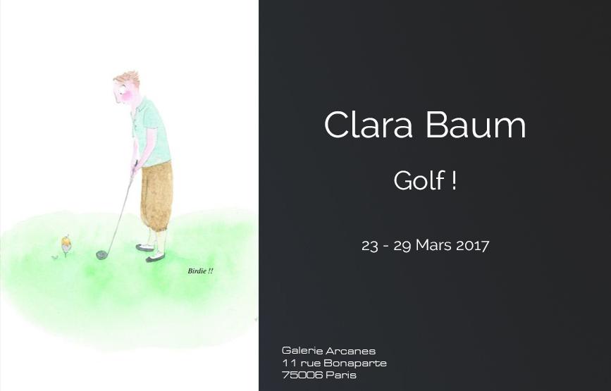 2017_03 - Clara Baum Golf_ Galerie Arcanes l Arts Décoratifs XXe - Art Contemporain Paris,
