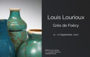 2017_09- Louis Lourioux Grès de Foëcy_ Galerie Arcanes l Arts Décoratifs XXe - Art Contemporain Paris