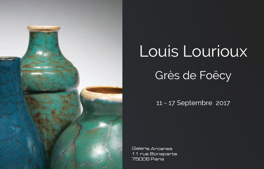 2017_09- Louis Lourioux Grès de Foëcy_ Galerie Arcanes l Arts Décoratifs XXe - Art Contemporain Paris,