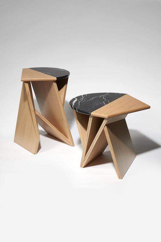 Chauveau Pierre-Rémi - Gueridons Acrobate _ Galerie Arcanes l Arts Décoratifs XXe - Art Contemporain Paris
