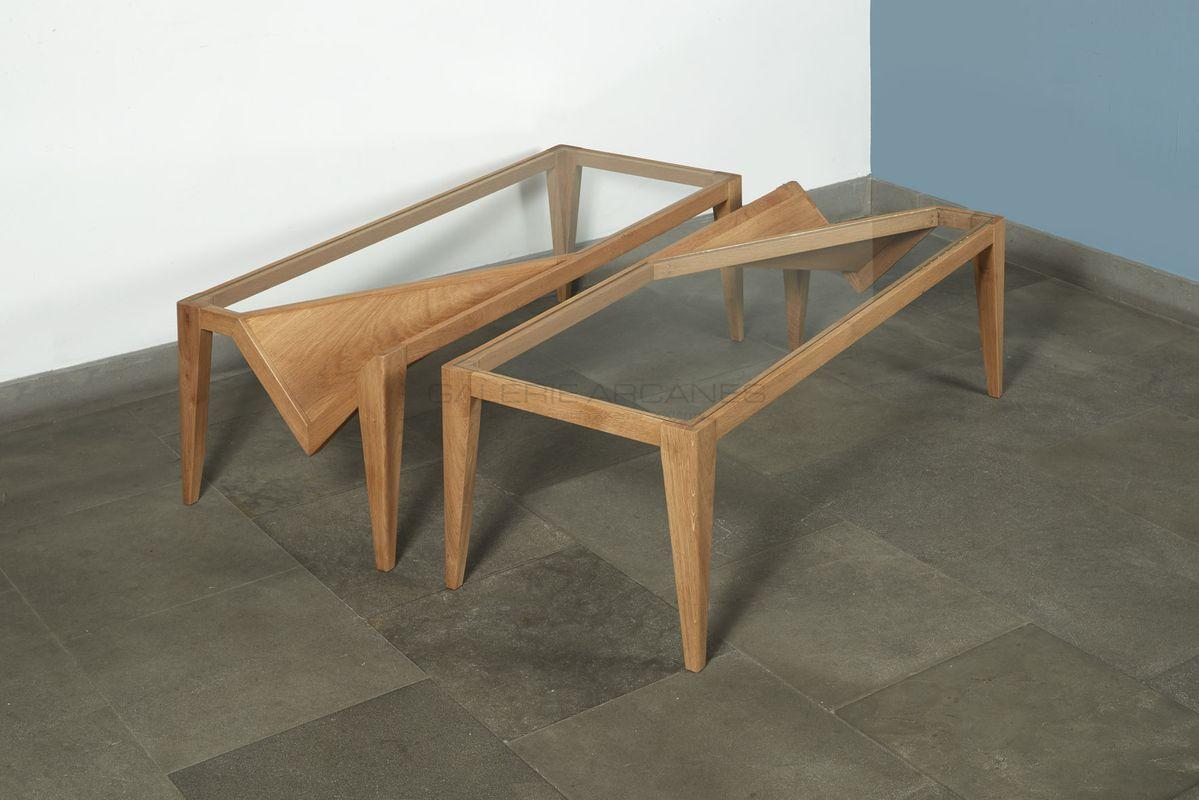 Chauveau Pierre-Rémi - Table Basse Mirre _ Galerie Arcanes l Arts Décoratifs XXe - Art Contemporain Paris
