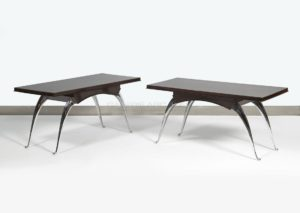 Elegant Low Tables, Makassar and Bronze, Circa 1936 | Dominique (André Domin et Marcel Genevrière)
