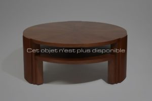Elegant Pedestal Table, Mahogany, Circa 1930 | Dominique (Genet et Michon)