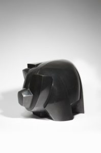 Cochon Kioo, bronze, 2017 | Jacques Owczarek