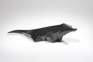 Crocodile Tanakio, bronze, 2016 | Jacques Owczarek