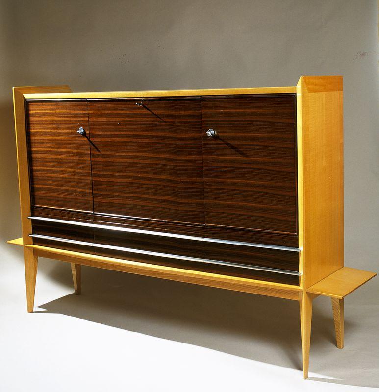 Sognot Louis - Meuble secrétaire 1957 _ Galerie Arcanes l Arts Décoratifs XXe - Art Contemporain Paris