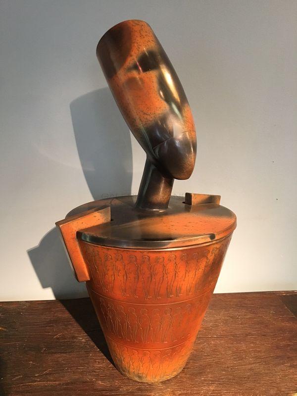 Bayle Pierre - Vase Canope Mana _ Galerie Arcanes l Arts Décoratifs XXe - Art Contemporain Paris