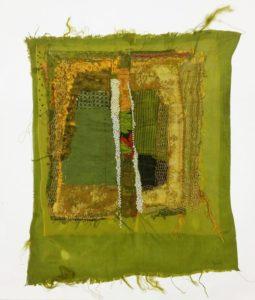 Fleuve, broderie, 2014 | Annita Romano