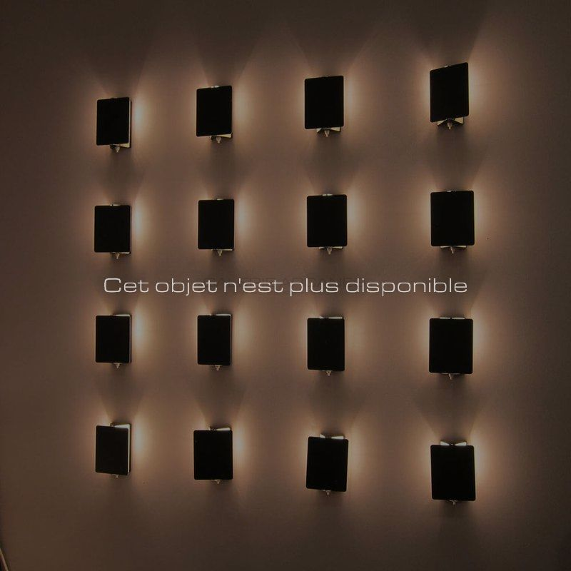 Non disponibles - Perriand Charlotte - Appliques noires 1960 _ Galerie Arcanes l Arts Décoratifs XXe - Art Contemporain Paris _ Galerie Arcanes l Arts Décoratifs XXe - Art Contemporain Paris