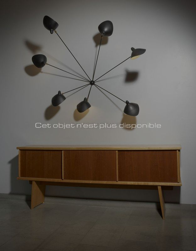 Plus disponibles - Perriand Charlotte - Mouille - Perriand _ Galerie Arcanes l Arts Décoratifs XXe - Art Contemporain Paris _ Galerie Arcanes l Arts Décoratifs XXe - Art Contemporain Paris