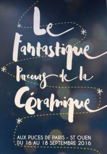 2016-09- Les Puces fantastiques - Le fantastique parcours de la céramique - Fantastiques puces.2 _ Galerie Arcanes l Arts Décoratifs XXe - Art Contemporain Paris