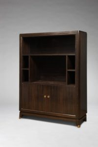 Storage cabinet, Macassar ebony, circa 1935 | Dominique