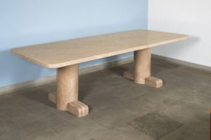 Rare Stone Table, Circa 1946 | René Herbst