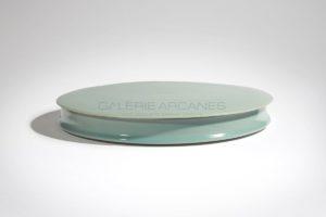 Grande boîte Lagon, porcelaine, 2015 | Valérie Hermans