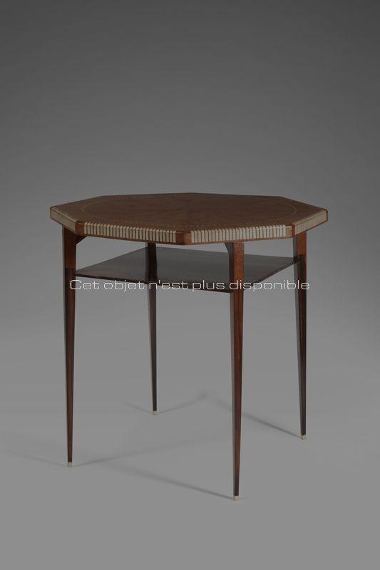 Ruhlmann Jacques-Emile - Petite table modèle Bernstein _ Galerie Arcanes l Arts Décoratifs XXe - Art Contemporain Paris_1