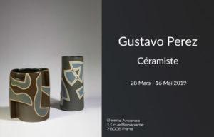 2019-03- Gustavo Perez - Newsletter _ Galerie Arcanes l Arts Décoratifs XXe - Art Contemporain Paris