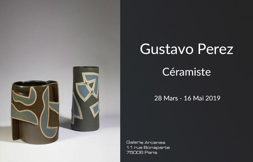 2019-03- Gustavo Perez - Newsletter _ Galerie Arcanes l Arts Décoratifs XXe - Art Contemporain Paris,