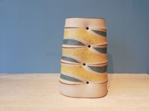 Flat Vase, Sandstone, 2011 | Gustavo Perez