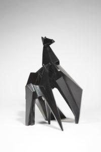 Chevaux Tana & Makio Bronze 2008 | Jacques Owczarek
