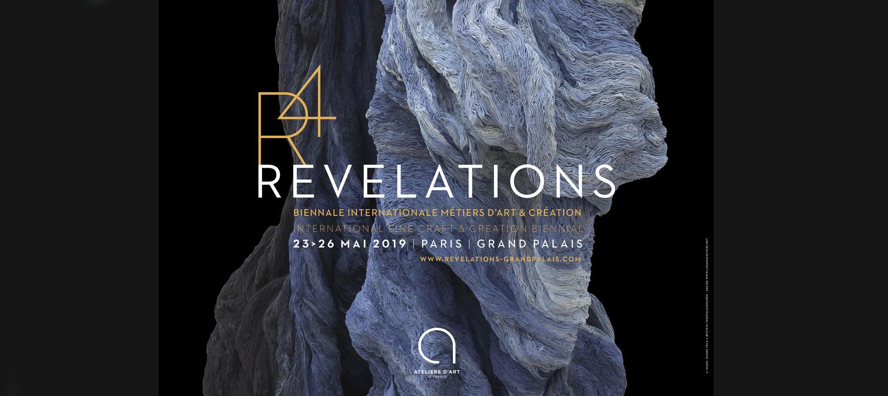 Salon Revelations 2019 - Salon Révélations Affiche _ Galerie Arcanes l Arts Décoratifs XXe - Art Contemporain Paris,