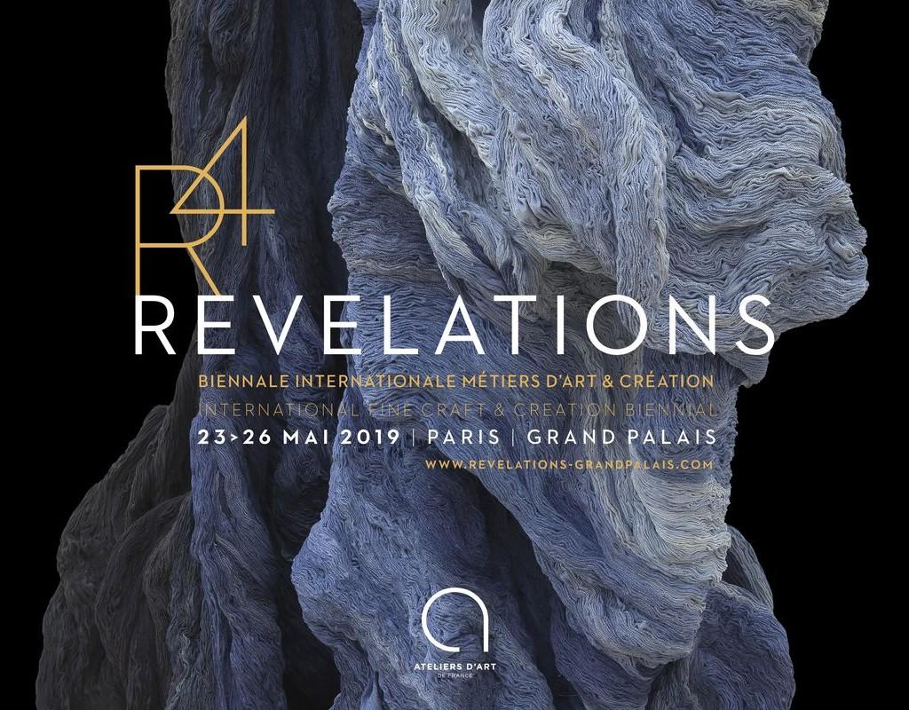 Salon Revelations 2019 - Salon Révélations Affiche _ Galerie Arcanes l Arts Décoratifs XXe - Art Contemporain Paris