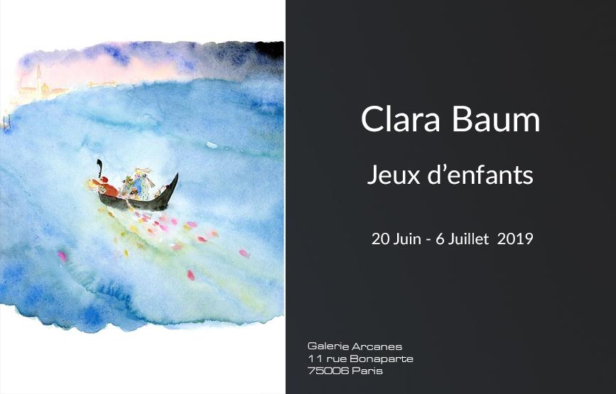 Expositions Galerie SITE - Clara Baum Jeux d_enfants_ Galerie Arcanes l Arts Décoratifs XXe - Art Contemporain Paris,
