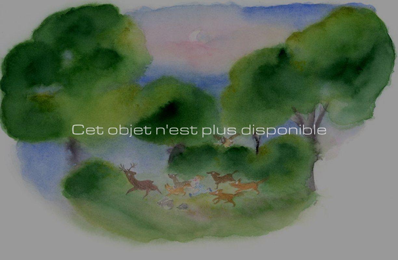 Non disponibles - Jeux d'enfants - Course de nuit_ Galerie Arcanes l Arts Décoratifs XXe - Art Contemporain Paris