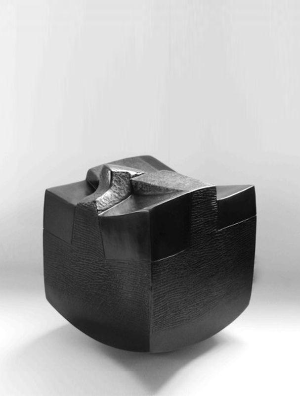 Brigitte Marionneau - Contenir le vent 9-V_ Galerie Arcanes l Arts Décoratifs XXe - Art Contemporain Paris