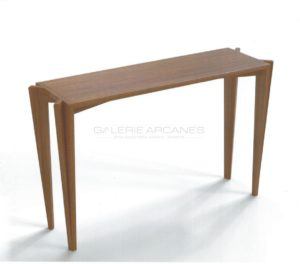"Console Table ""Faille"", oak, 2019 