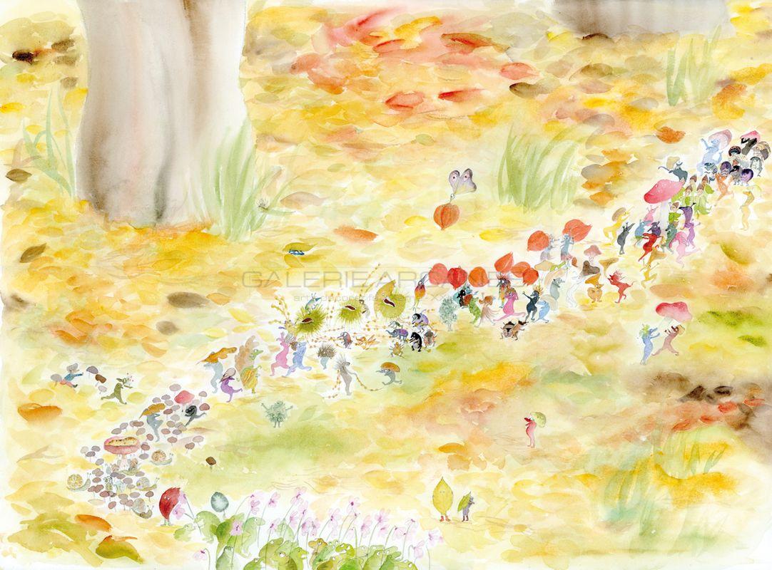 Baum Clara - La parade d'automne_ Galerie Arcanes l Arts Décoratifs XXe - Art Contemporain Paris