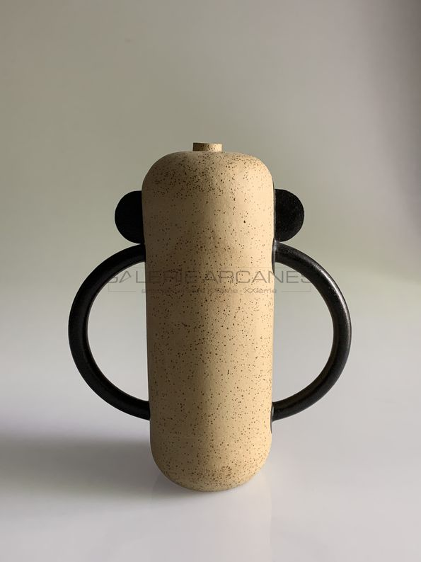 Bonnefoy Mercuriali Jeanne - Jeu d'anses, céramique en grès, 2019 -4_ Galerie Arcanes l Arts Décoratifs XXe - Art Contemporain Paris