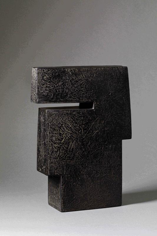 Brigitte Marionneau - Grand méplat Contenir le vent 8-VI_ Galerie Arcanes l Arts Décoratifs XXe - Art Contemporain Paris