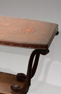 Pedestal table, Mahogany, Circa 1920 | Maurice Dufrene