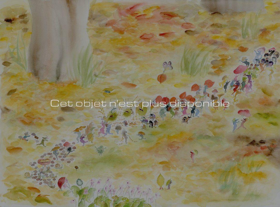Non disponibles - Baum Clara - La parade d'automne_ Galerie Arcanes l Arts Décoratifs XXe - Art Contemporain Paris_ Galerie Arcanes l Arts Décoratifs XXe - Art Contemporain Paris
