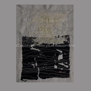 Fragmento, broderie, 2019 | Annita Romano