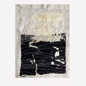 Fragmento, broderie, 2019   Annita Romano