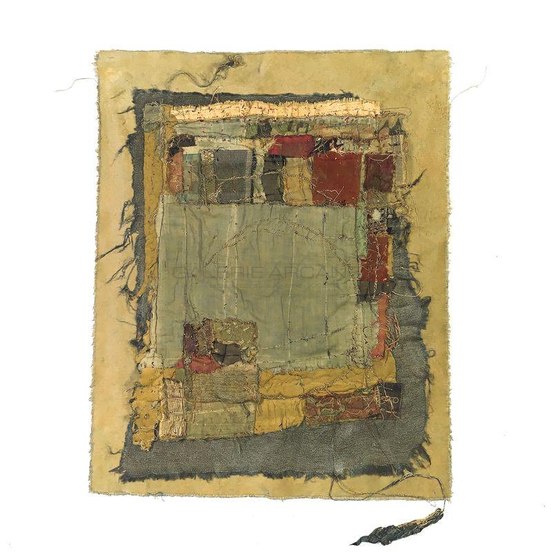 Romano Annita - Le Jaune_ Galerie Arcanes l Arts Décoratifs XXe - Art Contemporain Paris