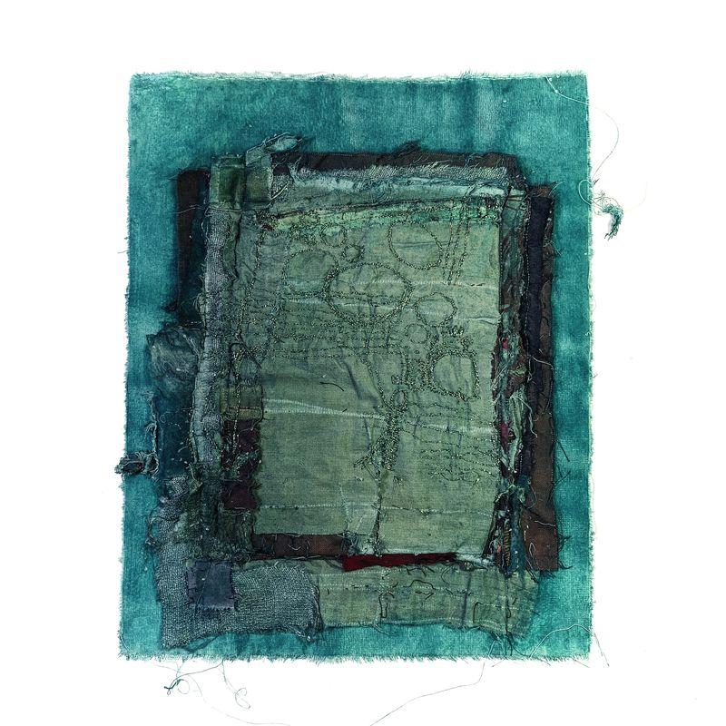 Romano Annita - Le Vert_ Galerie Arcanes l Arts Décoratifs XXe - Art Contemporain Paris