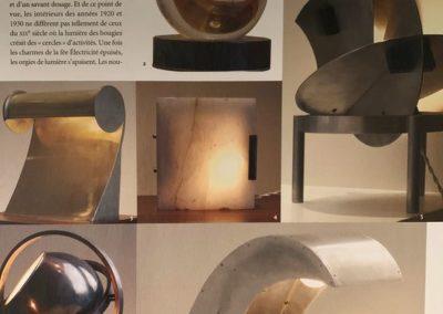 12-2004. L'Oeil. Luminaires - 2_ Galerie Arcanes l Arts Décoratifs XXe - Art Contemporain Paris