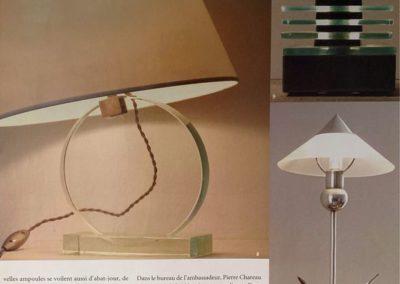 12-2004. L'Oeil. Luminaires - 4_ Galerie Arcanes l Arts Décoratifs XXe - Art Contemporain Paris