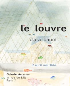 2014-05- Clara Baum. Dessins - Le Louvre_ Galerie Arcanes l Arts Décoratifs XXe - Art Contemporain Paris