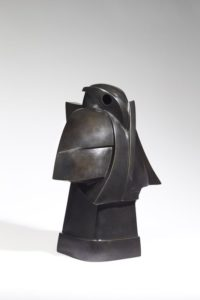 Taorakio, the Bird, bronze, 2001 | Jacques Owczarek