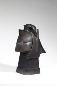 Taorakio, oiseau, bronze, 2001 | Jacques Owczarek