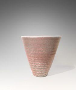 Vase coquillage rose et bleu, 2011 | Jean Girel