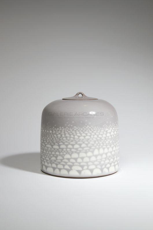Hermans Valérie - Boite cailloux_ Galerie Arcanes l Arts Décoratifs XXe - Art Contemporain Paris