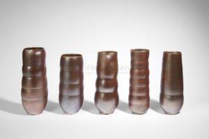 Ensemble de vases rouleau moirés | Valérie Hermans